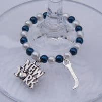 Place & Country Wine Glass Charms