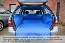 Mercedes - Up to Front Seats Boot Liner