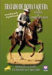 DOMA VAQUERA (the definitive series) DVD 6 - Work at Canter, flying changes, half pass.
