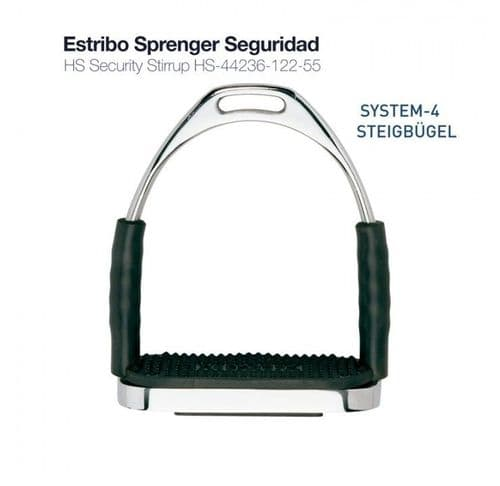 Sprenger double jointed safety stirrups - lg