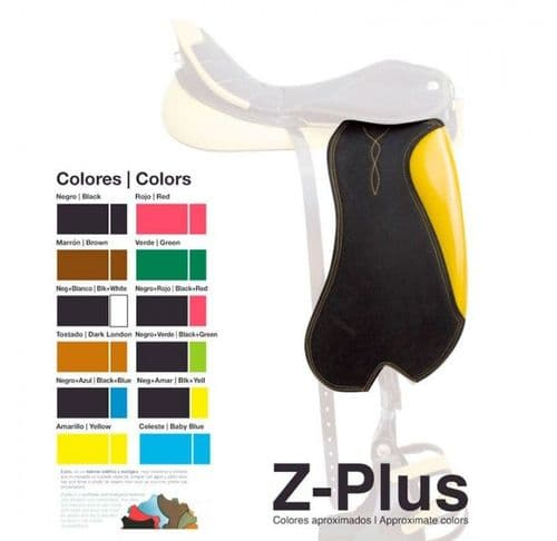 Vila's endurance flaps with integrated stirrup leathers