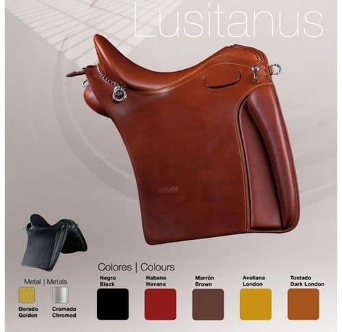 Zaldi Lusitanus saddle