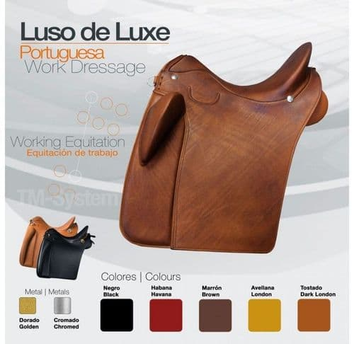 Zaldi Luso Delux saddle