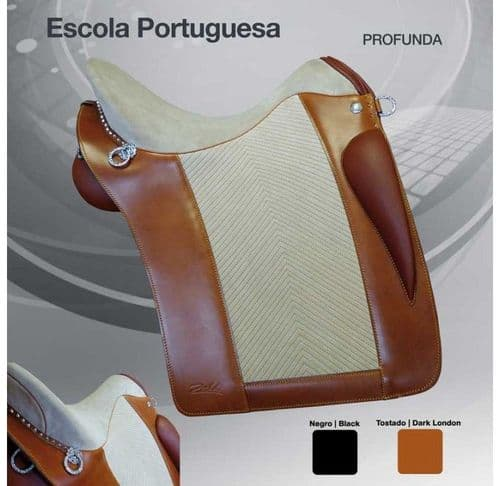 Zaldi Portuguese School saddle