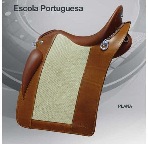 Zaldi Portuguese School saddle - semi deep
