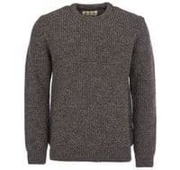 Barbour New Tyne Crew Neck Pullover - Derby Tweed - MKN0789KH71