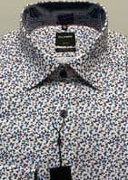 Neat Floral Design Cotton Luxor Shirt - Olymp- 1328/54/30
