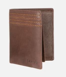 Pebble Grain Wallet  with RFID by Dents- 23.5535