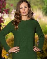 Womens Possum Blend Crossover Pullover by Nobel Wilde