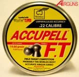 Webley Accupell FT Field Target Pellets (.22)