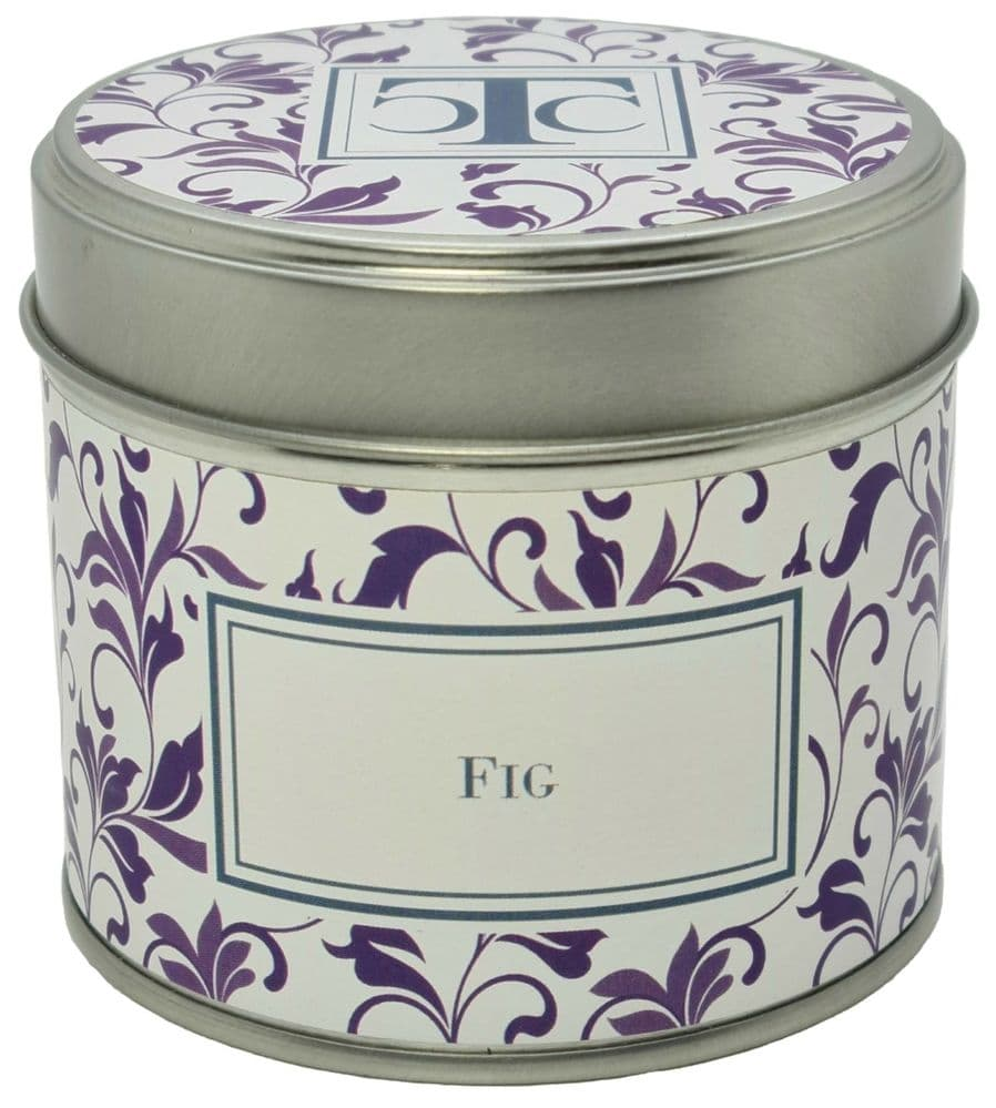 Fig Scented Candle Tin 35 hour