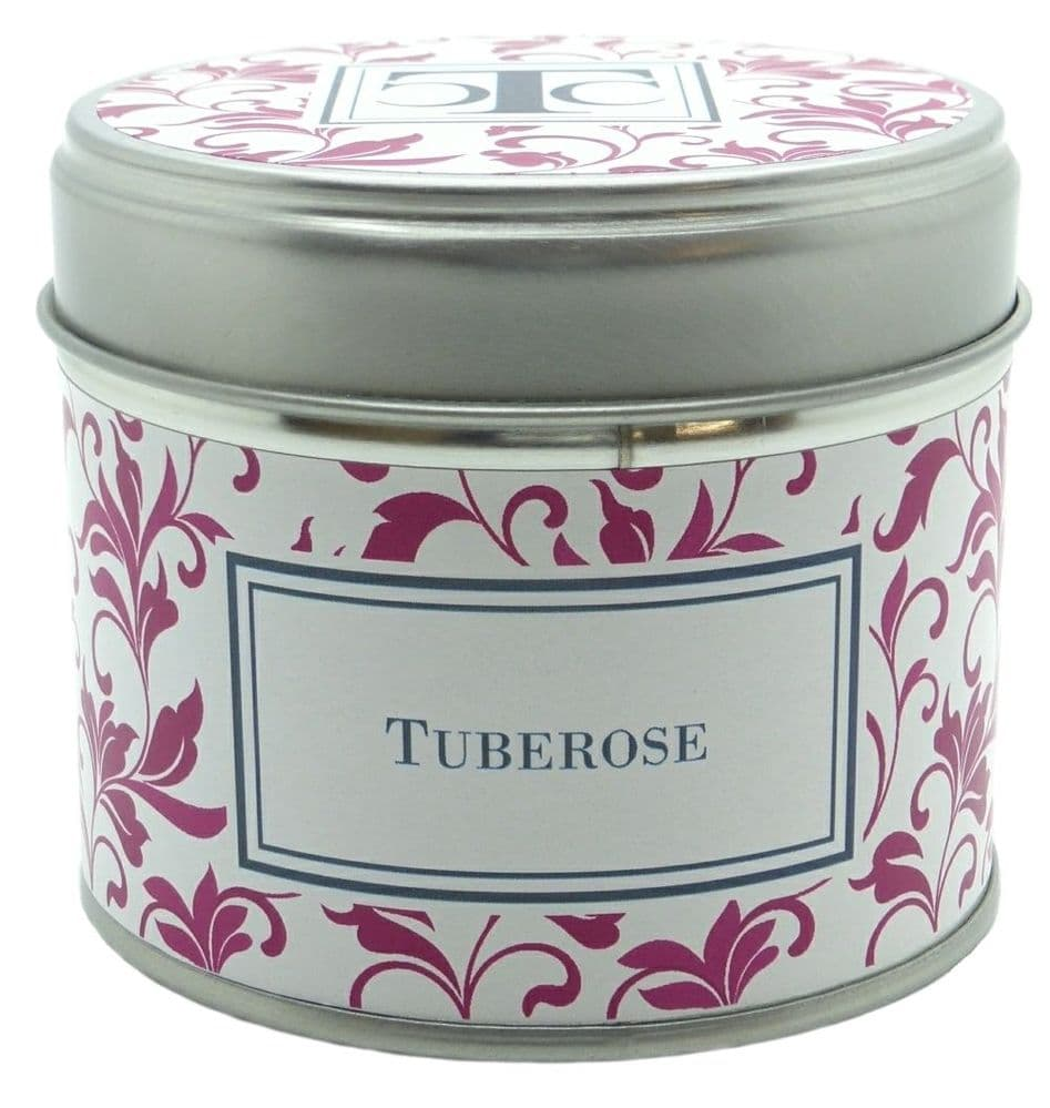 Tuberose Scented Candle Tin 35 hour