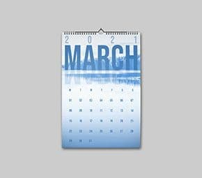 A4 Personalised Calendars